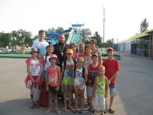 воскресная школа в аквапарке